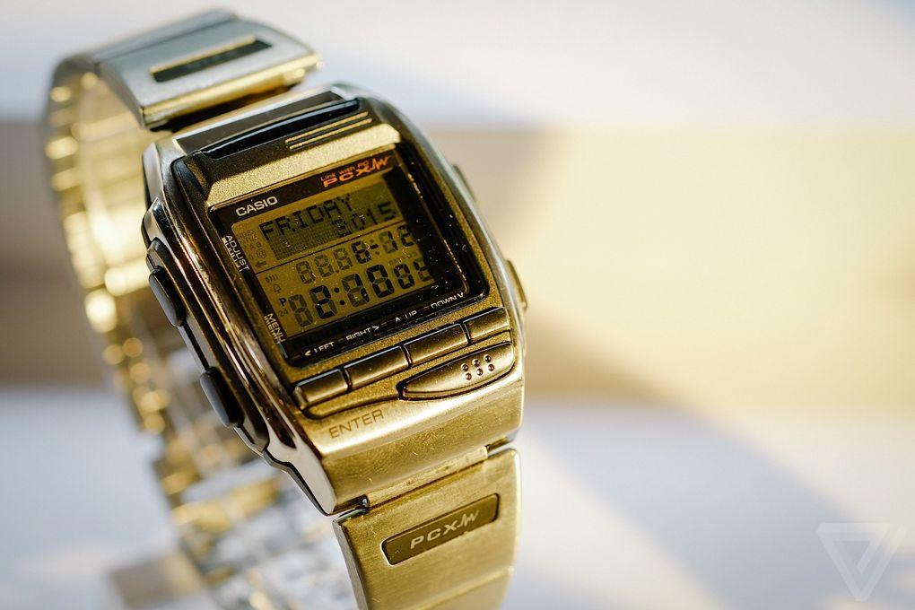 Назад в будущее. Умные часы от Casio из 90-х - 16