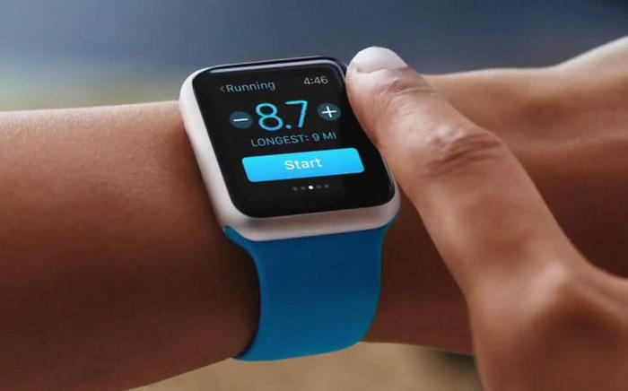 Wall Street Apple Watch