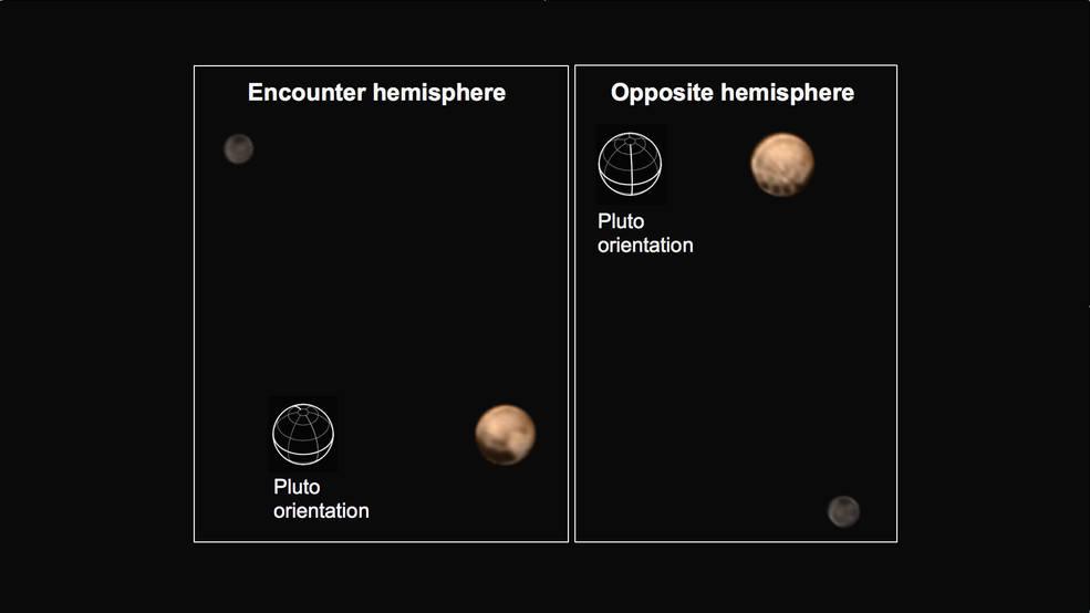 Новые цветные снимки Плутона от NASA - 1