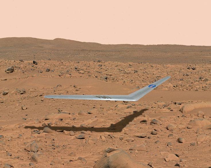 Полет на Марс, в котором сможет принять участие беспилотный планер, планируется на 2022-2024 годы
