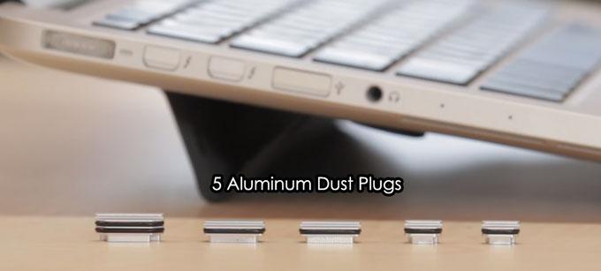 Складная опора и набор заглушек для разъемов за $37 оказались желанным дополнением к Apple MacBook