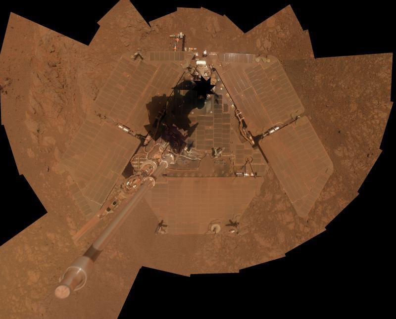 11 лет путешествий марсохода Opportunity за 8 минут: видео от NASA - 2