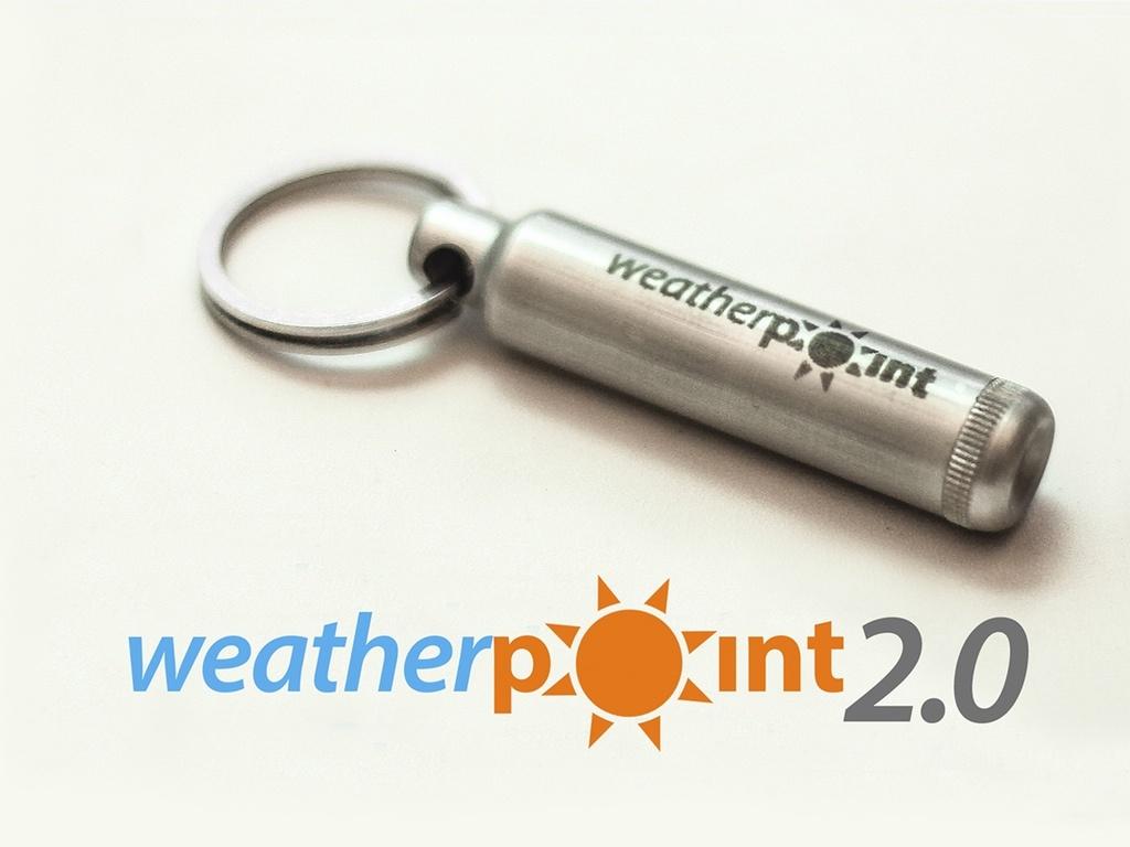 Weather Point 2.0: универсальная метеостанция в виде брелка - 1