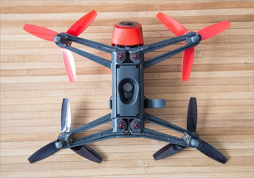 Игрушка для взрослых детей – обзор Parrot Bebop Drone - 3