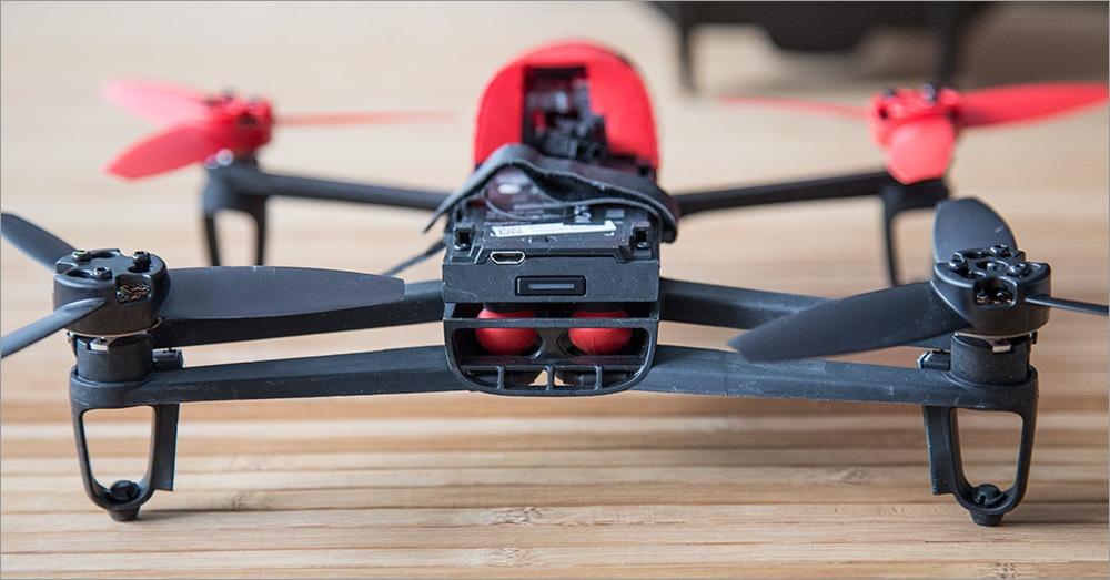 Игрушка для взрослых детей – обзор Parrot Bebop Drone - 4