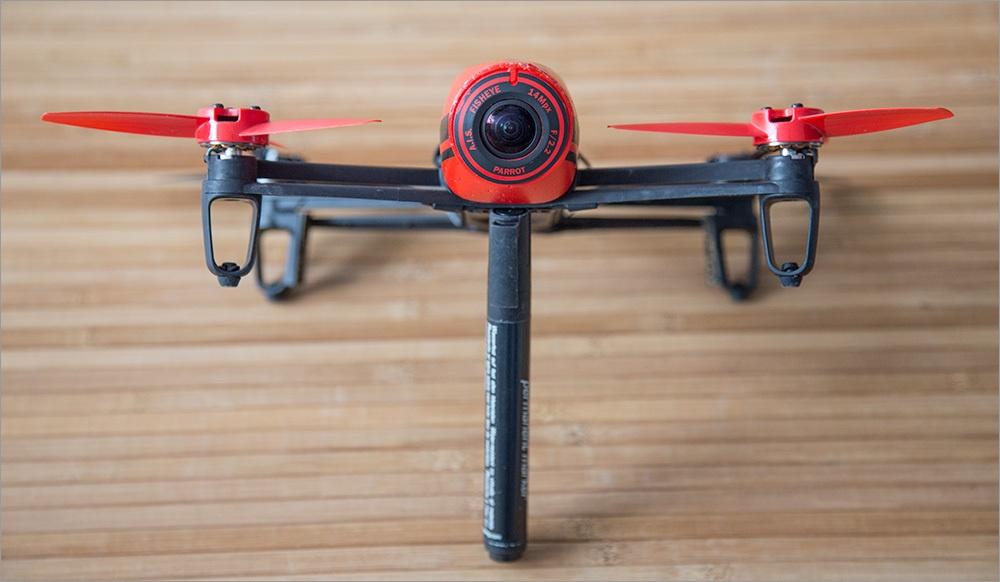 Игрушка для взрослых детей – обзор Parrot Bebop Drone - 5