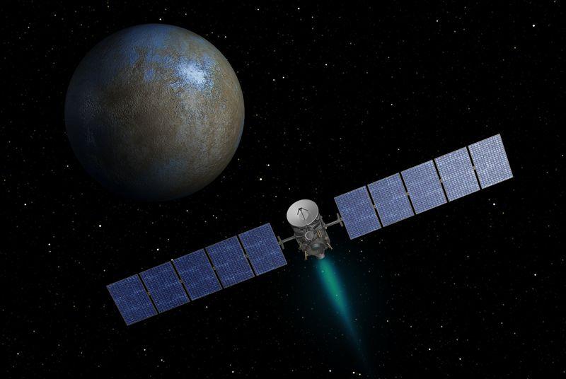Зонд Dawn испытывал те же проблемы, что и New Horizons - 1