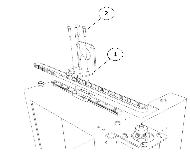 Инструкция по сборке 3D принтера Prism Uni(часть 1-механика) - 21