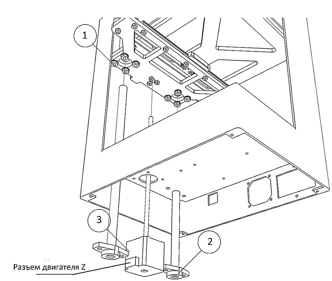 Инструкция по сборке 3D принтера Prism Uni(часть 1-механика) - 28