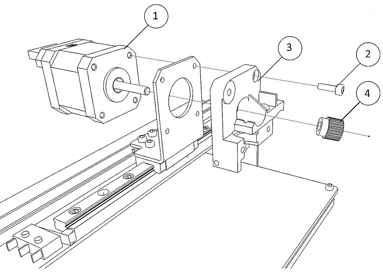 Инструкция по сборке 3D принтера Prism Uni(часть 1-механика) - 34