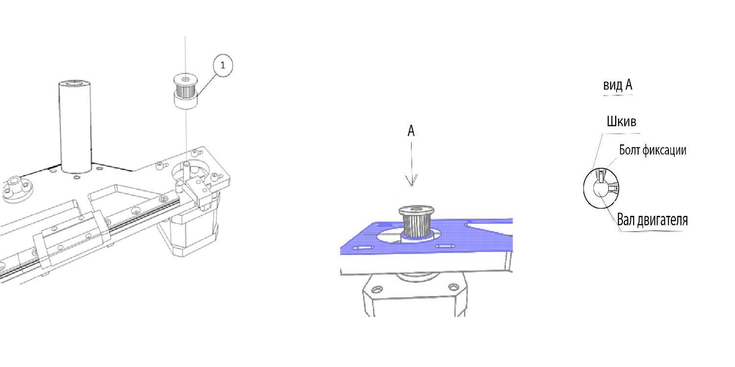 Инструкция по сборке 3D принтера Prism Uni(часть 1-механика) - 7