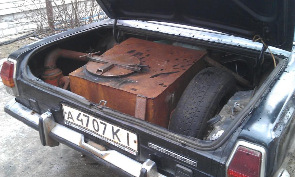 Машина на дровах: расход, пробег, запуск, фильтрация, октановое число газа, влияние на двигатель - 2