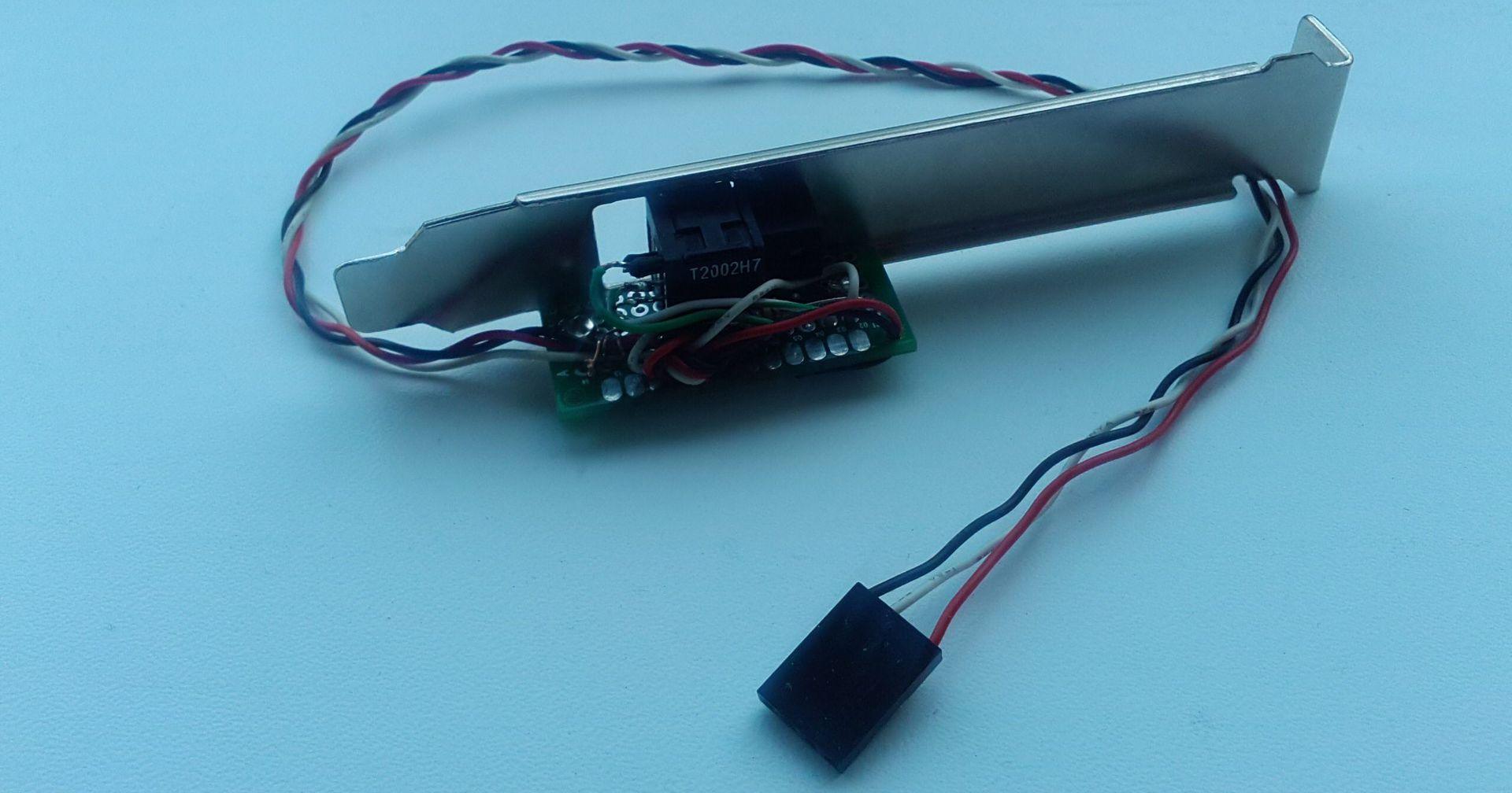 Оптический S-PDIF для ПК своими руками - 5