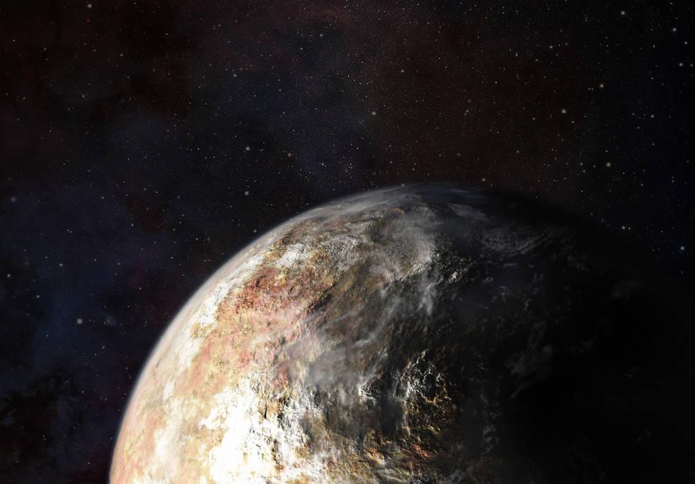 Представлена первая карта Плутона на основе данных New Horizons - 1
