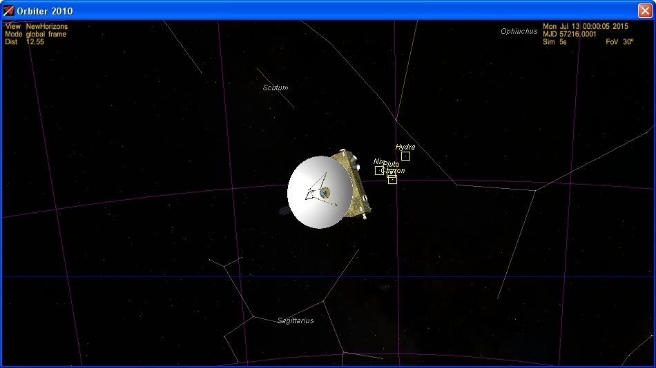 Пролетаем Плутон с «Новыми Горизонтами» - 14