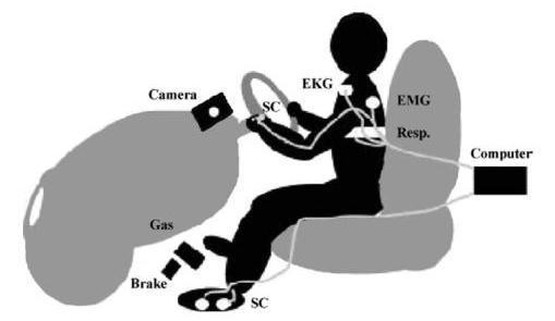 Системы поддержки водителей на основе измерения психофизиологических показателей - 2