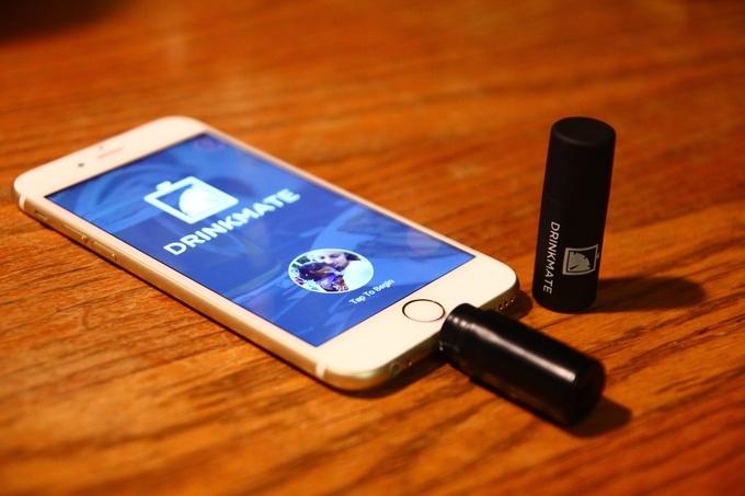 DrinkMate — миниатюрный алкотестер для iPhone - 6