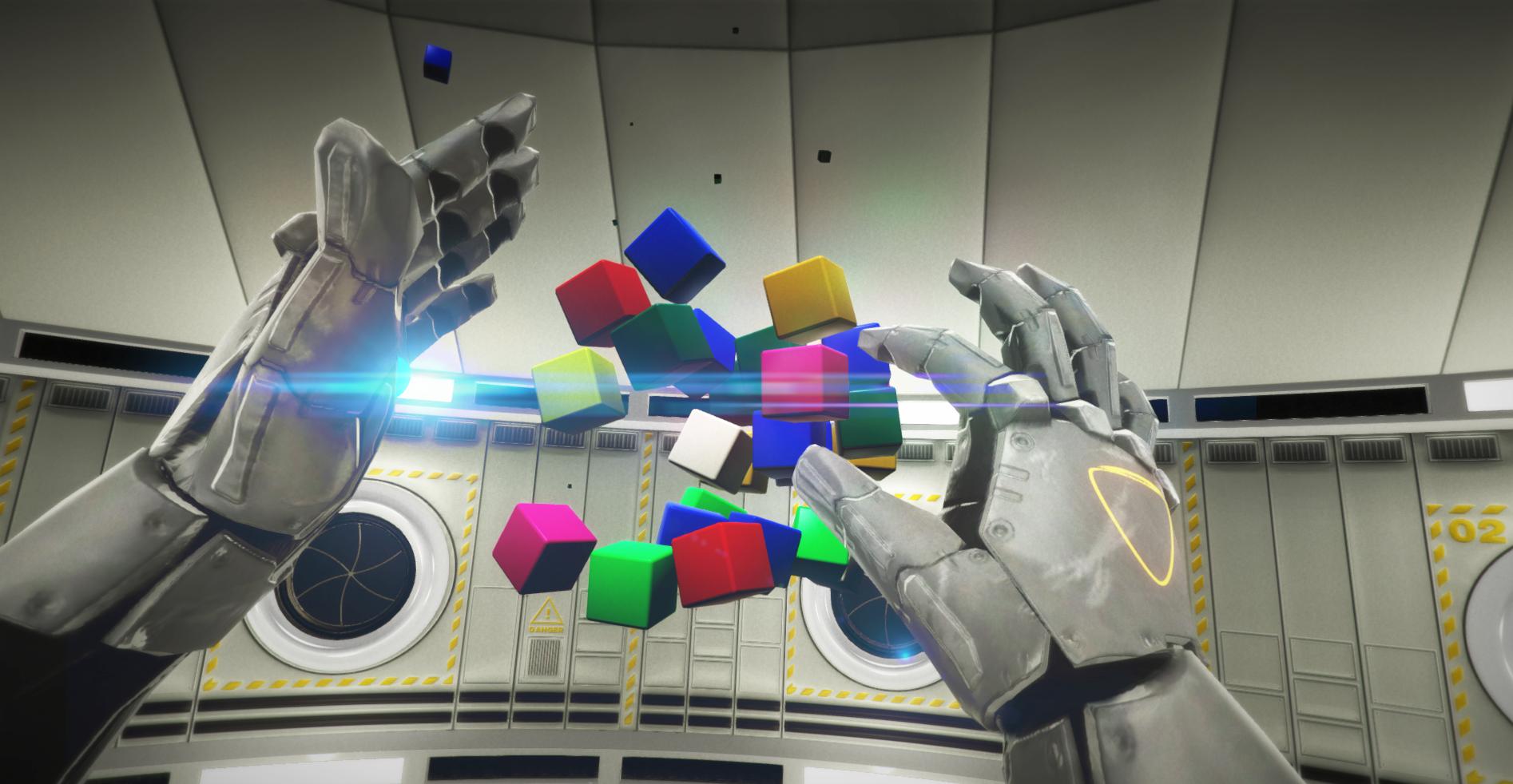 Опыт создания командной игры в виртуальной реальности - 1