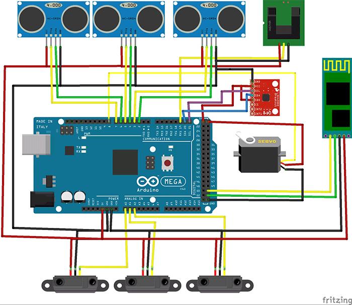 Студенты сделали самоуправляемый автомобиль на Arduino-Android - 3