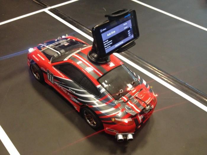 Студенты сделали самоуправляемый автомобиль на Arduino-Android - 4
