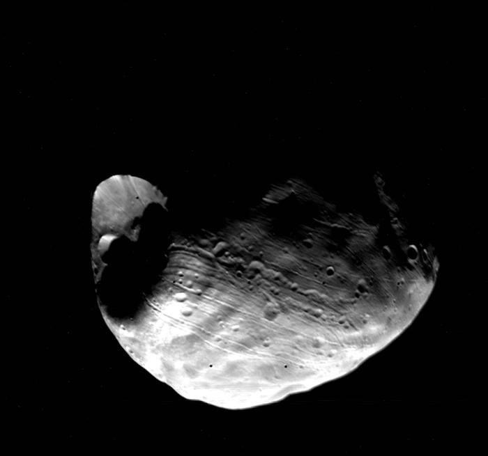 Фобос и Деймос: захваченные астероиды или обломки Марса? - 2