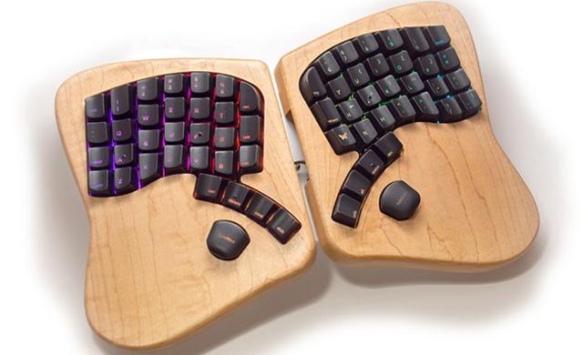Клавиатура-бабочка Keyboardio собрала на Kickstarter уже в 6 раз больше запрашиваемой суммы - 1