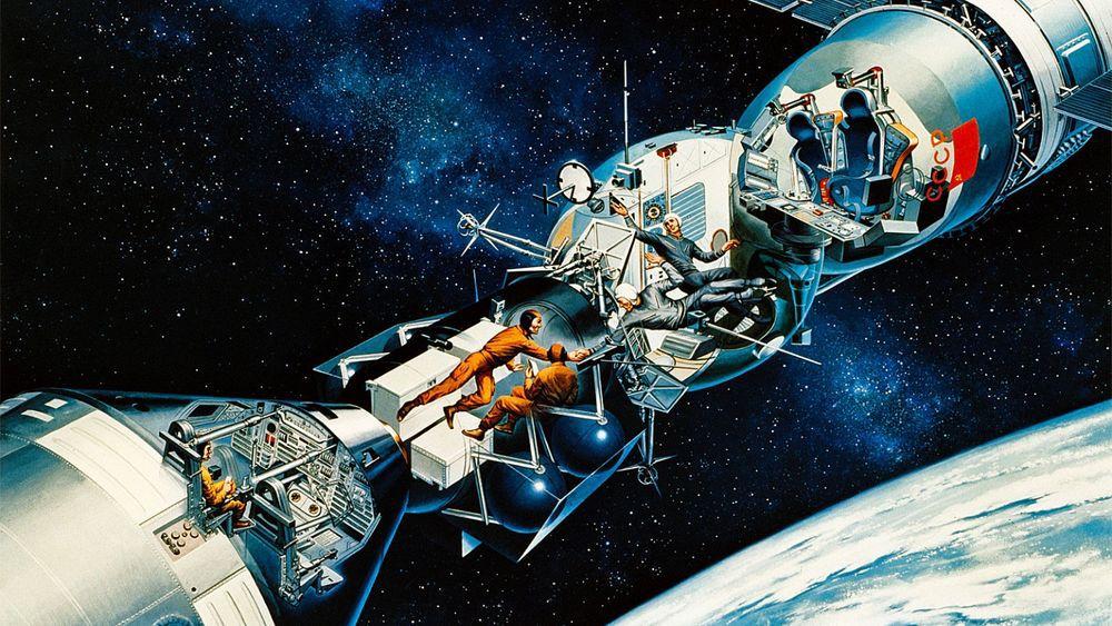 40 лет со дня первой стыковки Союза и Аполлона - 7