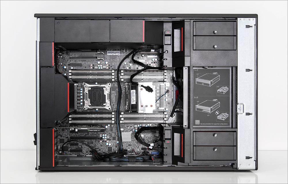 Два процессора, Карл! Анатомия Lenovo ThinkStation P900 - 38