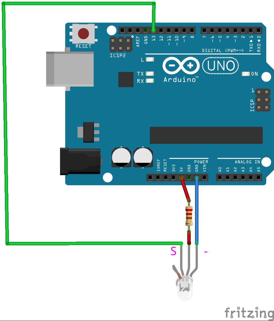 Лазерная связь между двумя Arduino кодом Морзе - 4