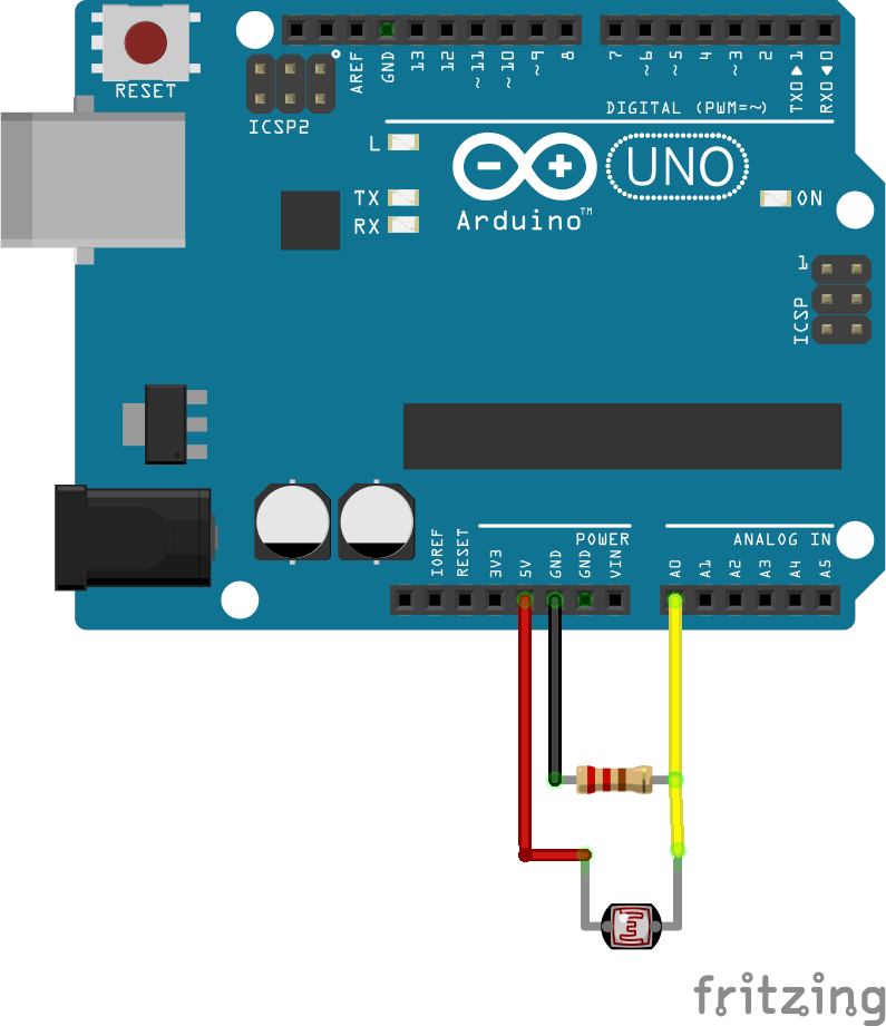 Лазерная связь между двумя Arduino кодом Морзе - 5