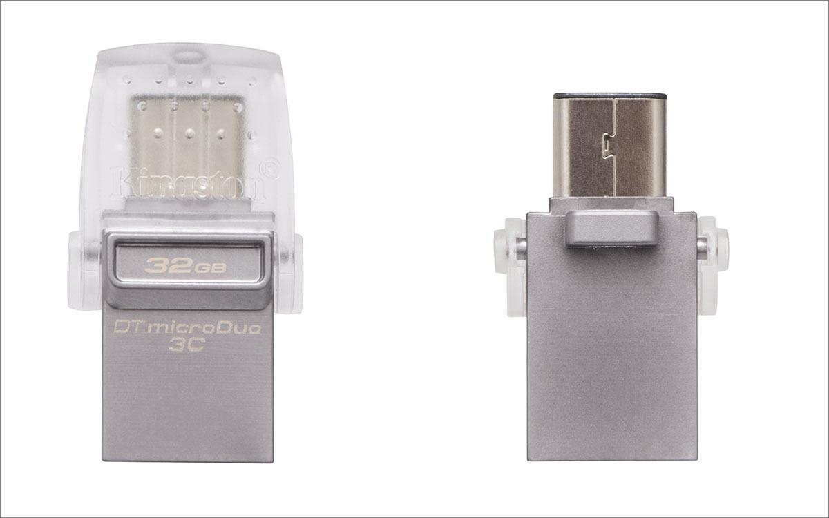 [Тестирование] USB накопитель Kingston с разъемом Type-C — DataTraveler microDuo 3C — емкостью 32 гигабайта - 3