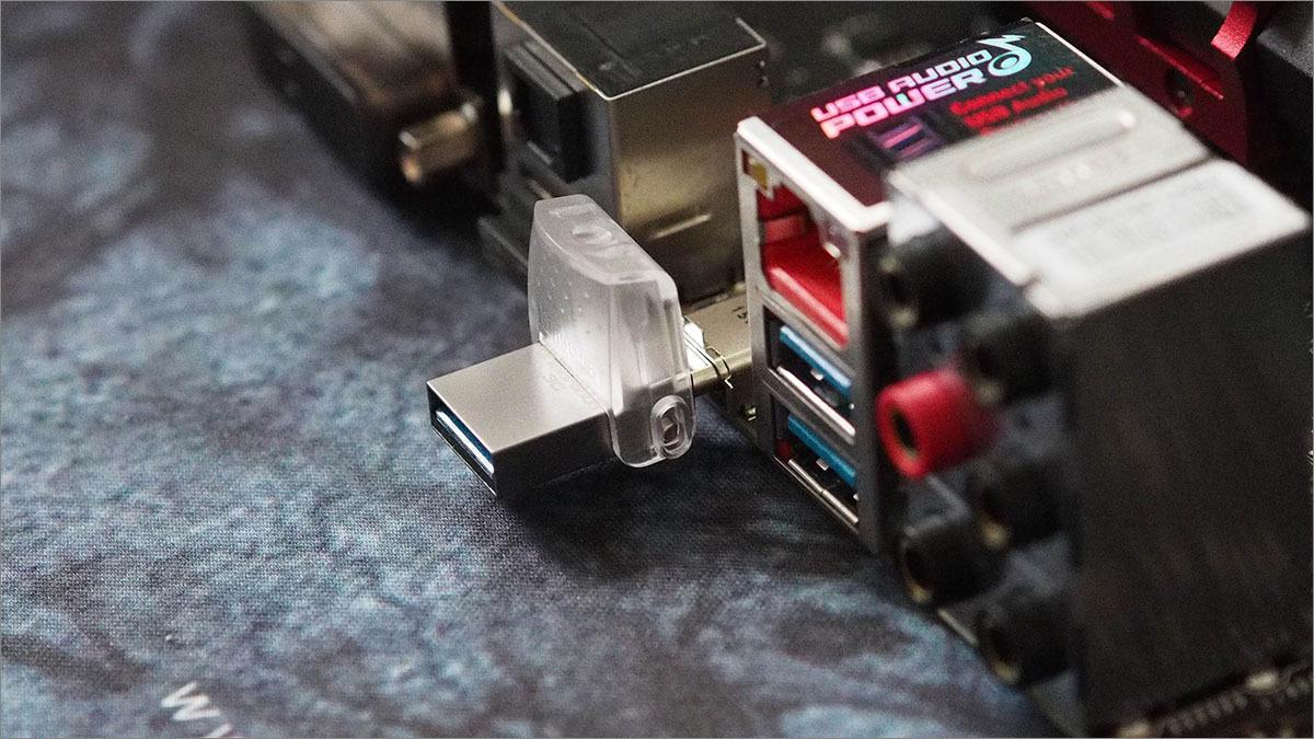 [Тестирование] USB накопитель Kingston с разъемом Type-C — DataTraveler microDuo 3C — емкостью 32 гигабайта - 6