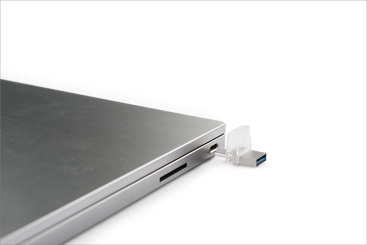 [Тестирование] USB накопитель Kingston с разъемом Type-C — DataTraveler microDuo 3C — емкостью 32 гигабайта - 1