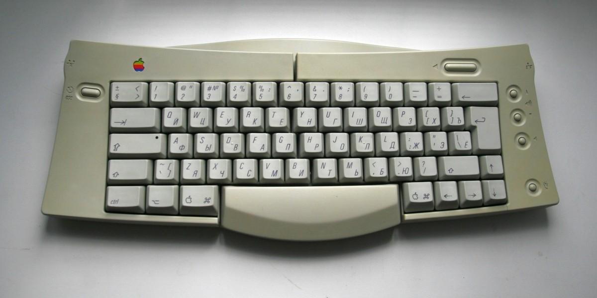 Восстановление Apple Adjustable Keyboard - 11