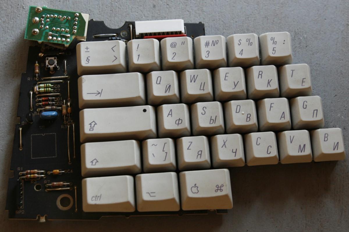Восстановление Apple Adjustable Keyboard - 4