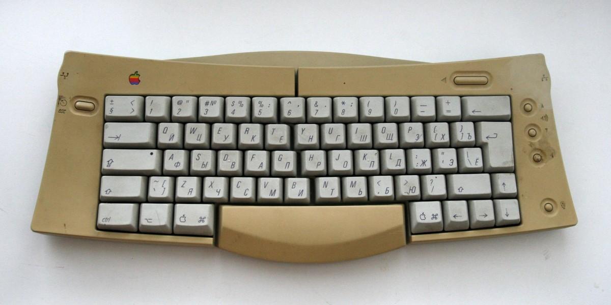 Восстановление Apple Adjustable Keyboard - 1