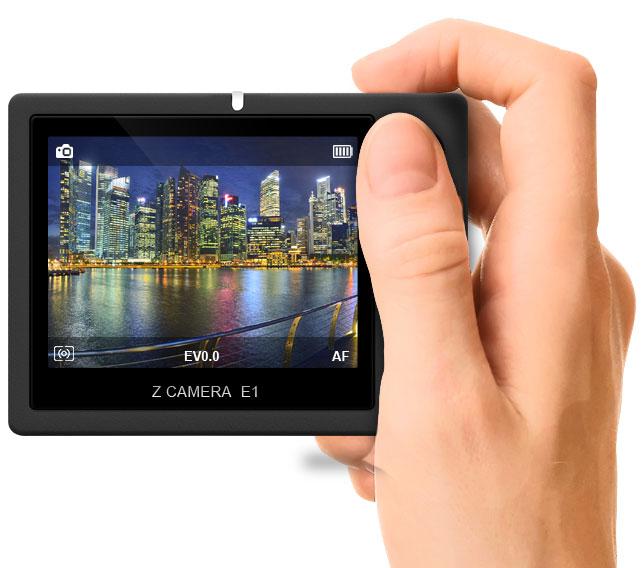 В камере используется датчик изображения формата Micro Four Thirds и процессор изображений Ambarella A9