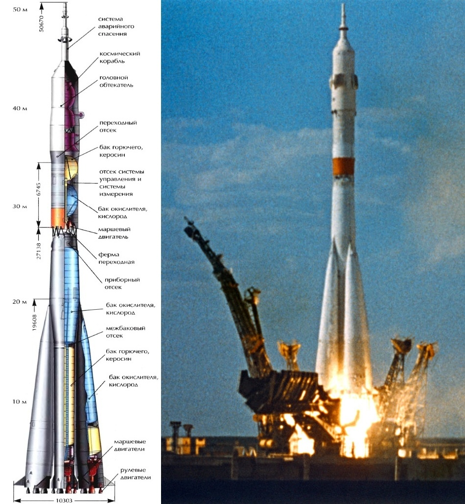 Такие похожие и такие разные «Союз» и «Аполлон» - 2