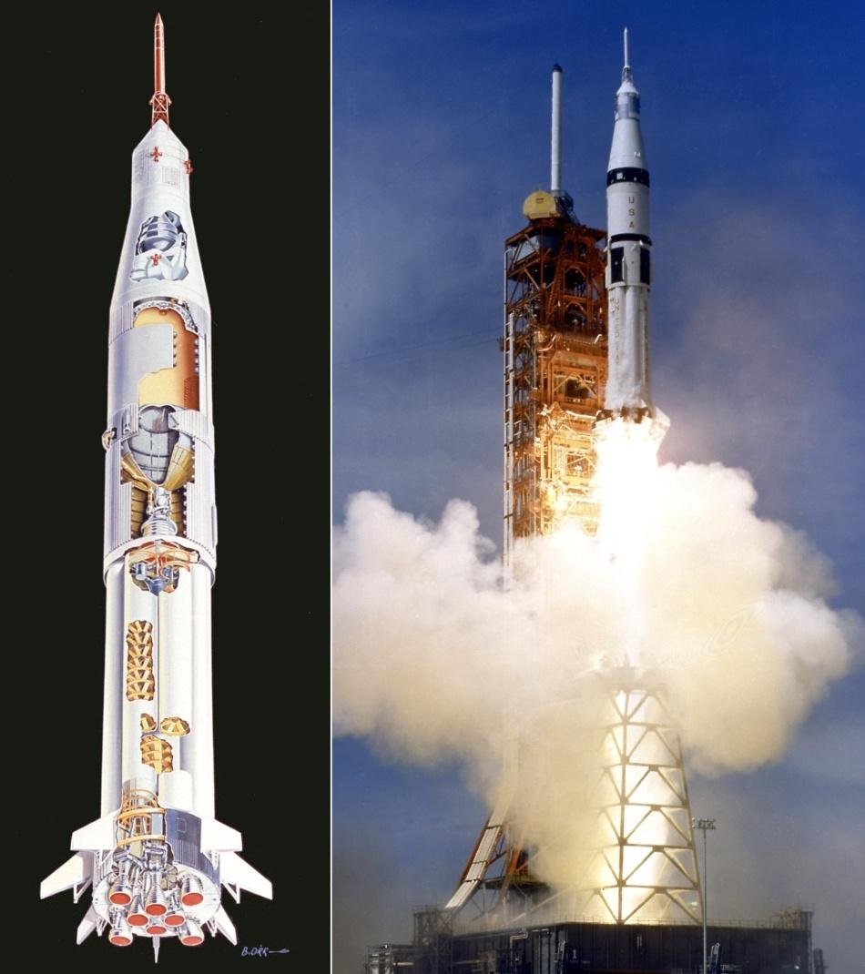 Такие похожие и такие разные «Союз» и «Аполлон» - 3
