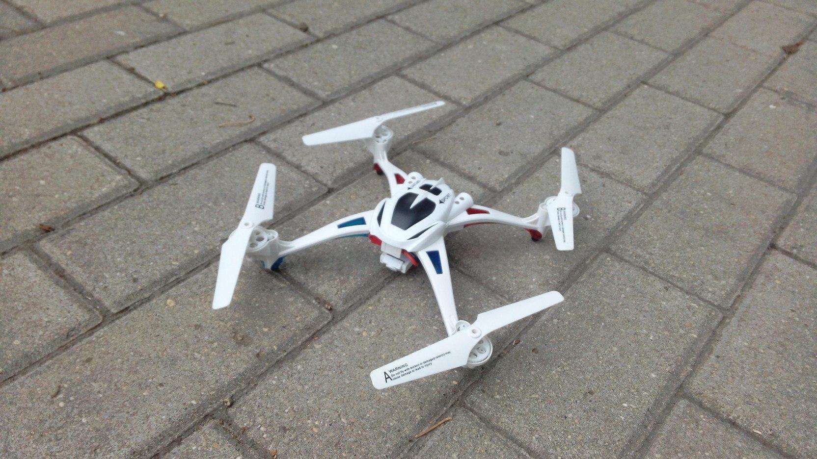 NIHUI TOYS U807 — неожиданно честный квадрокоптер с интересной камерой для 45$ - 1
