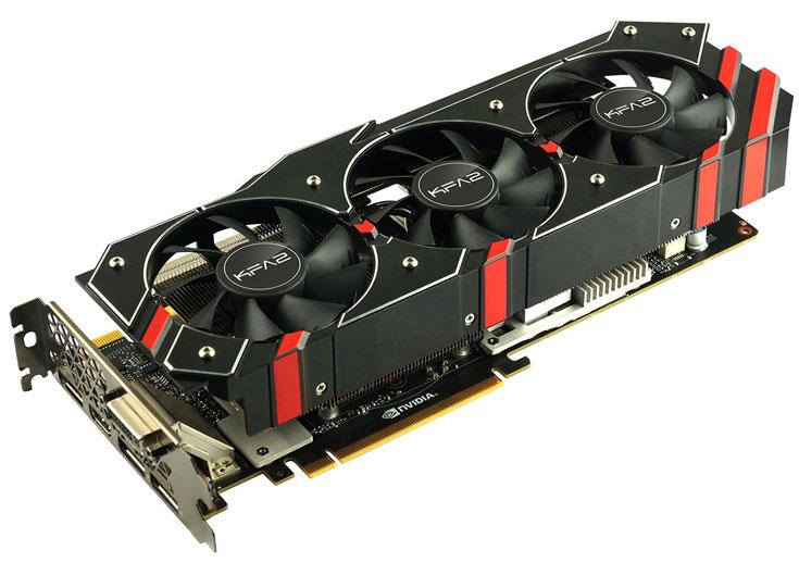Начались продажи 3D-карты Galax GeForce GTX 980 Ti OC