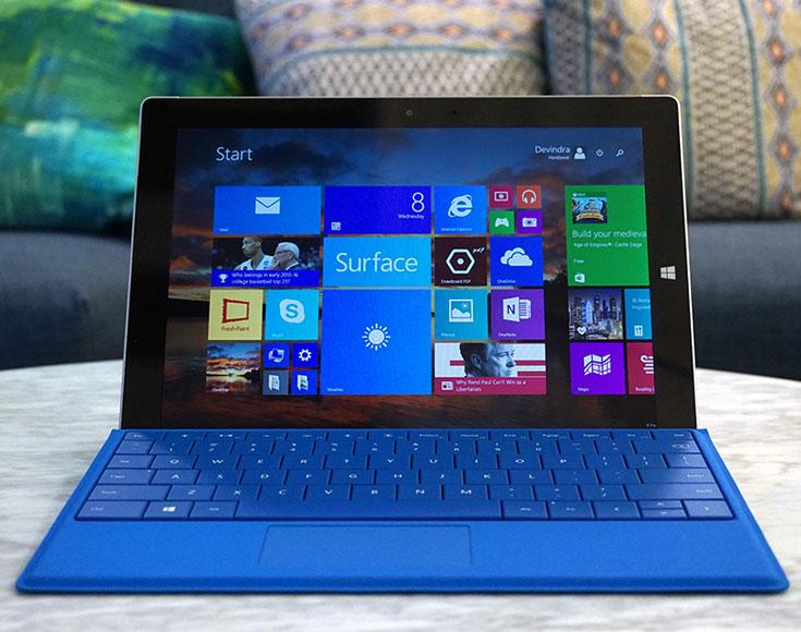 Планшеты Microsoft Surface 3 с поддержкой LTE появятся в продаже через несколько дней