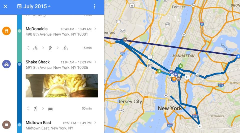 Google Maps теперь покажет все места, где вы были - 1