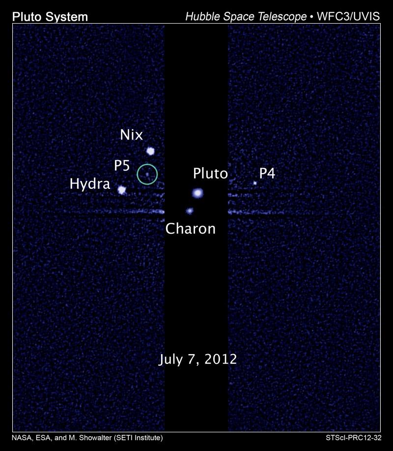 New Horizons прислал качественные фото малых спутников Плутона: Никты и Гидры - 1
