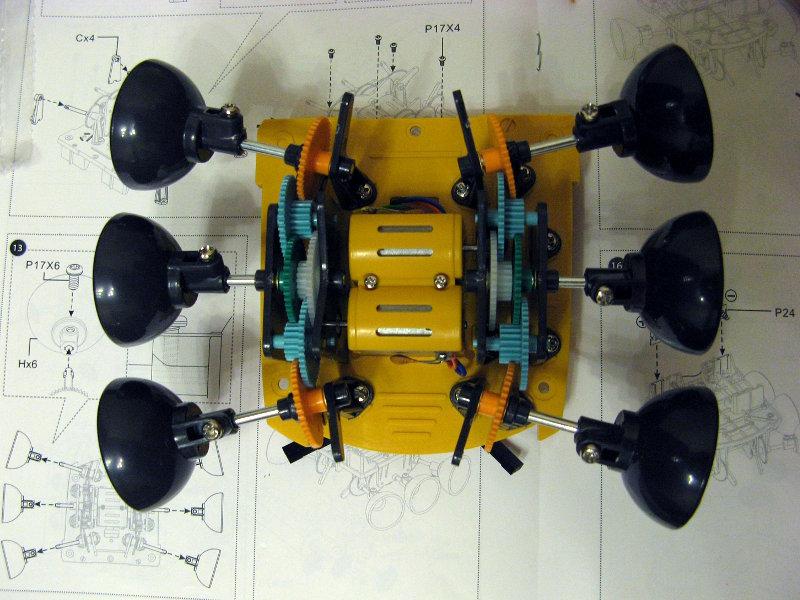 Робот-конструктор «Хватоход» - 17
