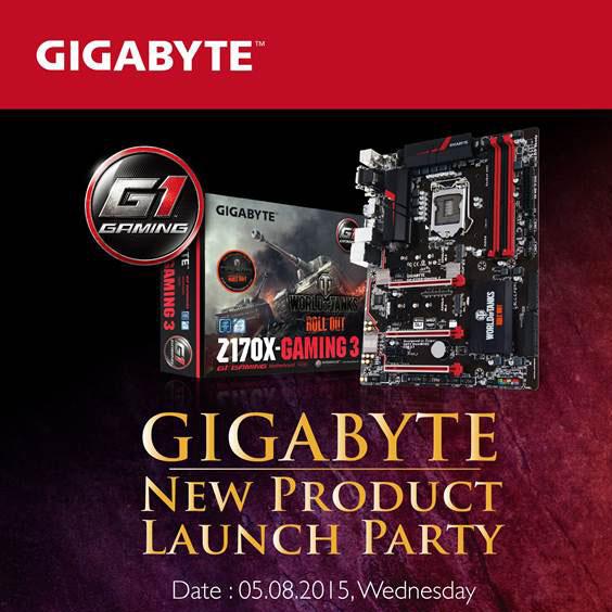 Системные платы Gigabyte Z170X ориентированы на использование в игровых ПК