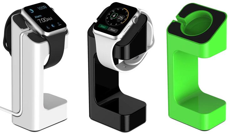 Появление доков со встроенными зарядными устройствами для часов Apple Watch ожидается до конца текущего года