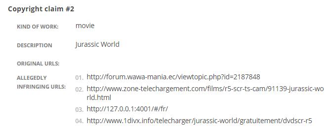 Universal Pictures просит Google убрать из поиска страницы IMDb, адрес 127.0.0.1, и не только - 3
