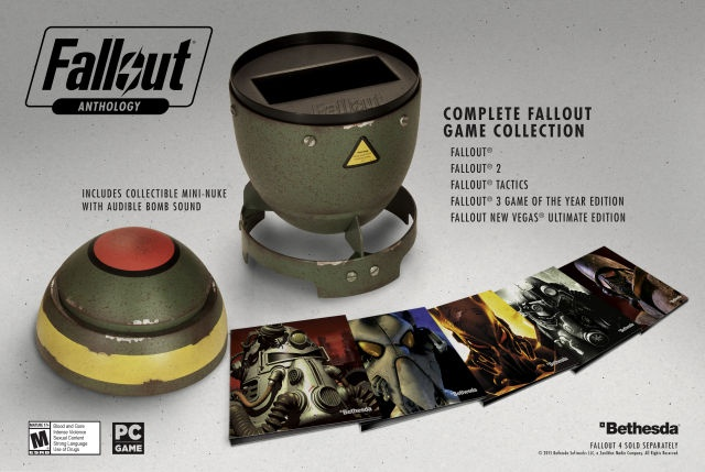 «Антология Fallout» будет продаваться в корпусе атомной бомбы - 1