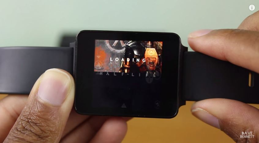 Half-Life запустили на умных часах с Android Wear - 1